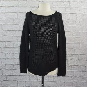 Rag & Bone Perforated Knit Sweater Top